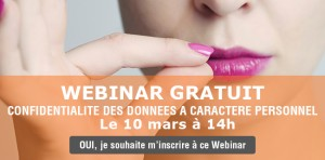 Webinar donnees a caratere personnel